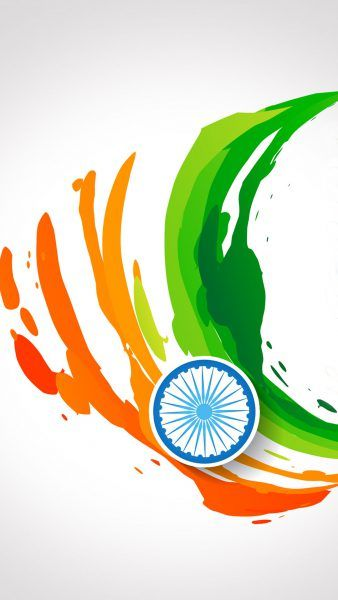 Free Download Of India Flag For Mobile Phone Wallpaper 14 Of 17   Abstract  Tricolour