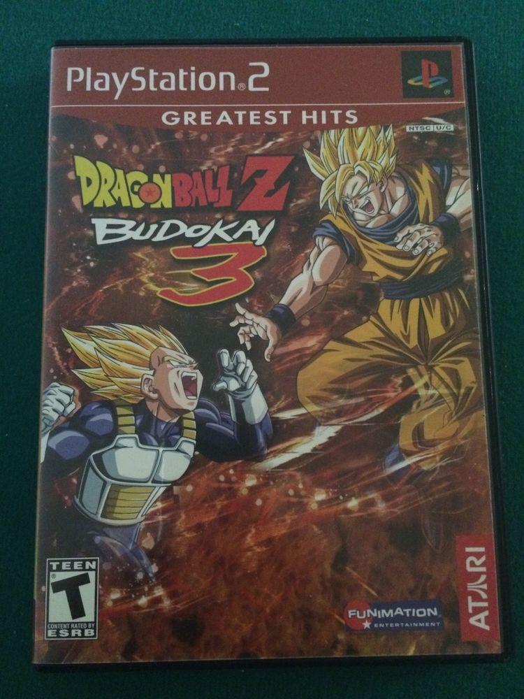 Dragon Ball Z Budokai (Greatest Hits) (Sony PlayStation 2)
