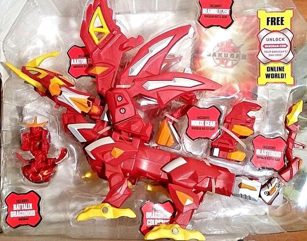 2010 SEGA Spin Master Bakugan Dragonoid Colossus RARE