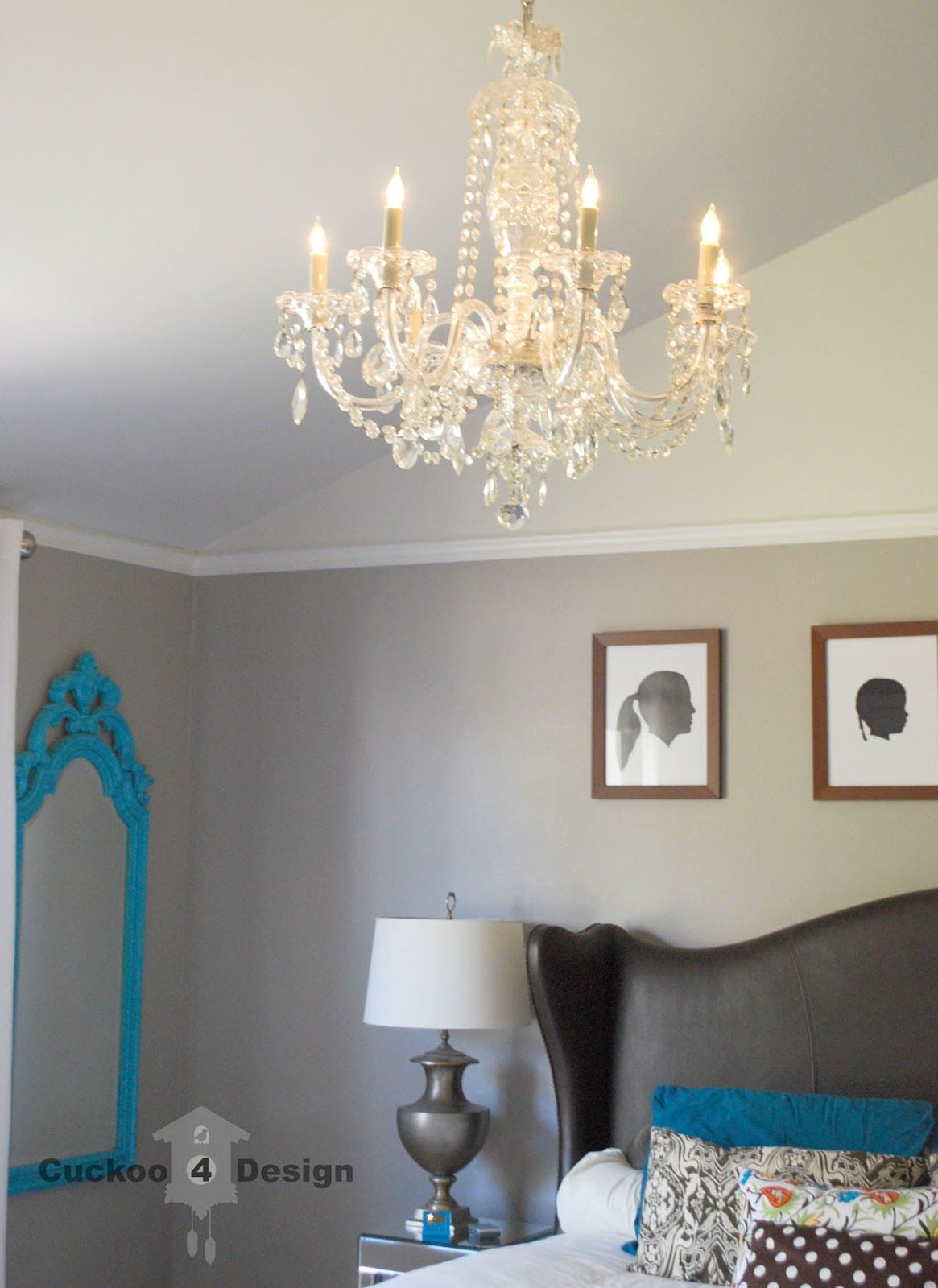 Diy crystal chandelier lighting pinterest ideas para diy crystal chandelier aloadofball Gallery