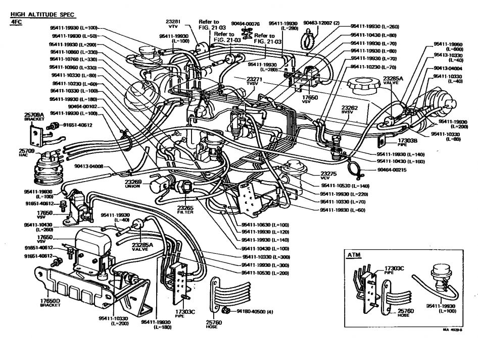 Toyota 22re Engine Wiring Diagram And Re Engine Parts Diagram New Wiring Diagrams In 2020 Toyota Tacoma Parts 2009 Toyota Tacoma Toyota Tacoma