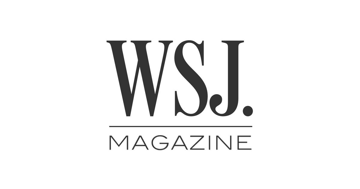 Wsj Magazine Magazine Logo Design Examples Wsj Magazine