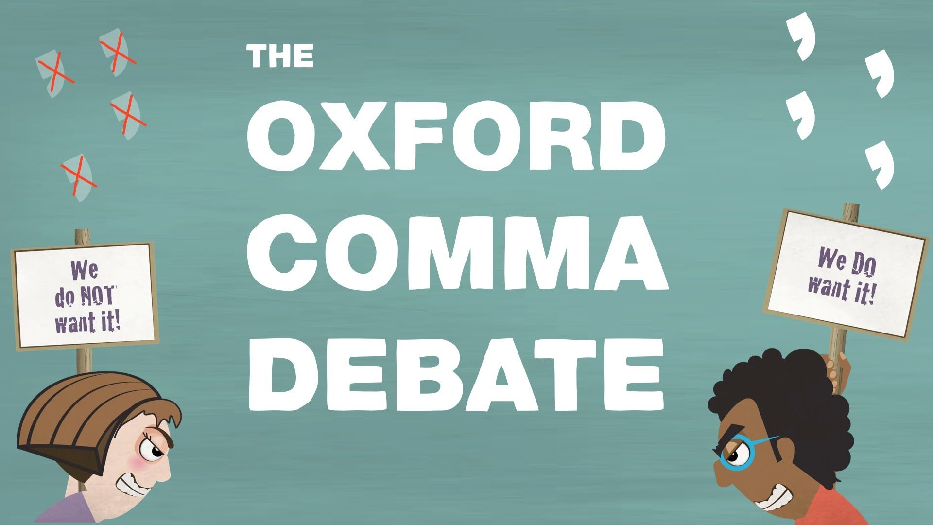 The Oxford Comma A Confounding Bit Of Punctuation