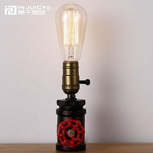 Injuicy Beleuchtung Loft Vintage Industriellen Steampunk Metall - bar fürs wohnzimmer