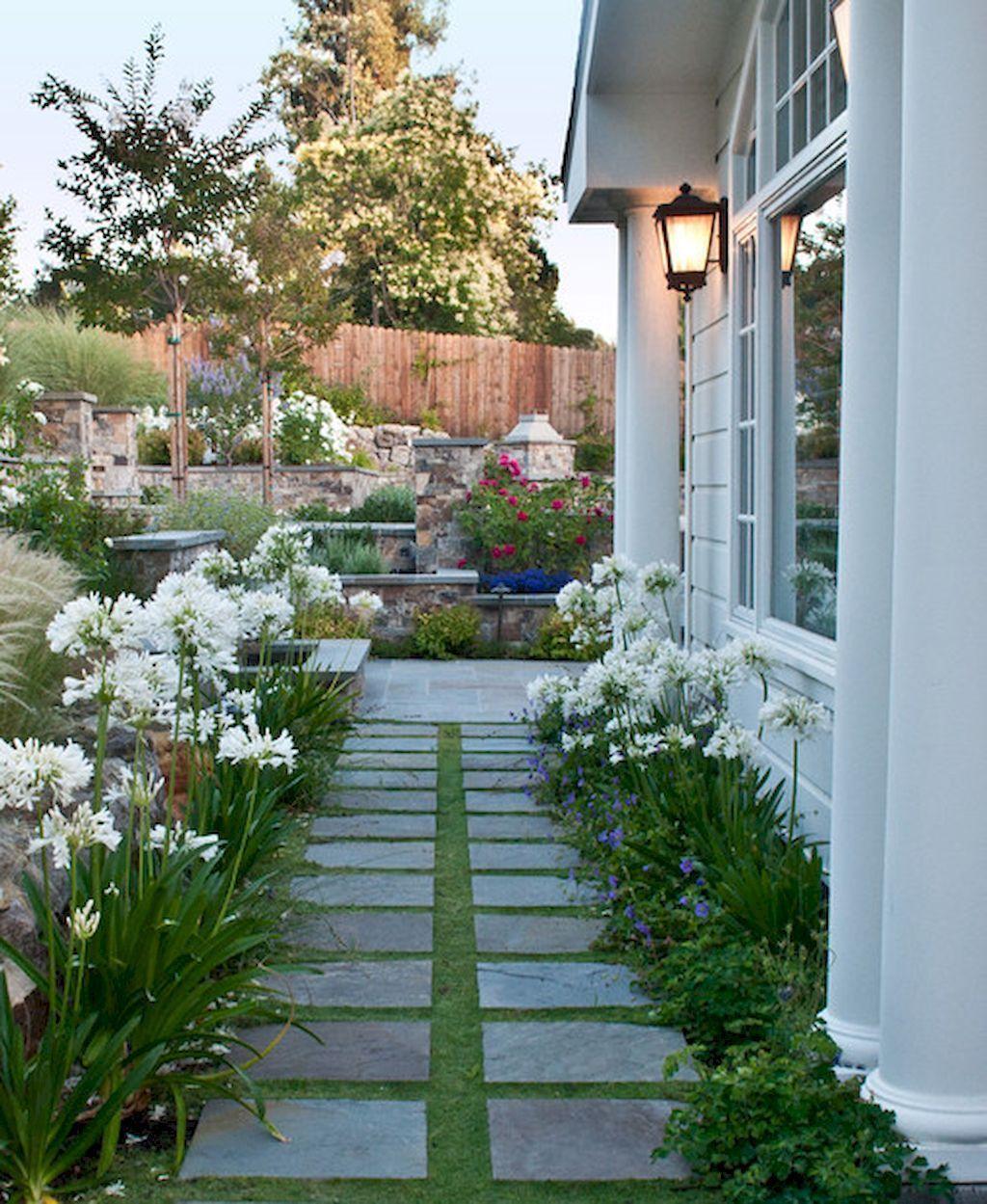 60 Beautiful Side Yard Garden Design Landscaping Ideas #sideyards