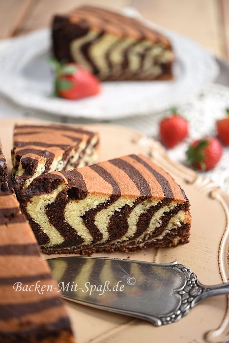 Zebrakuchen Ruhrkuchen Pinterest Kuchen Cake And Food