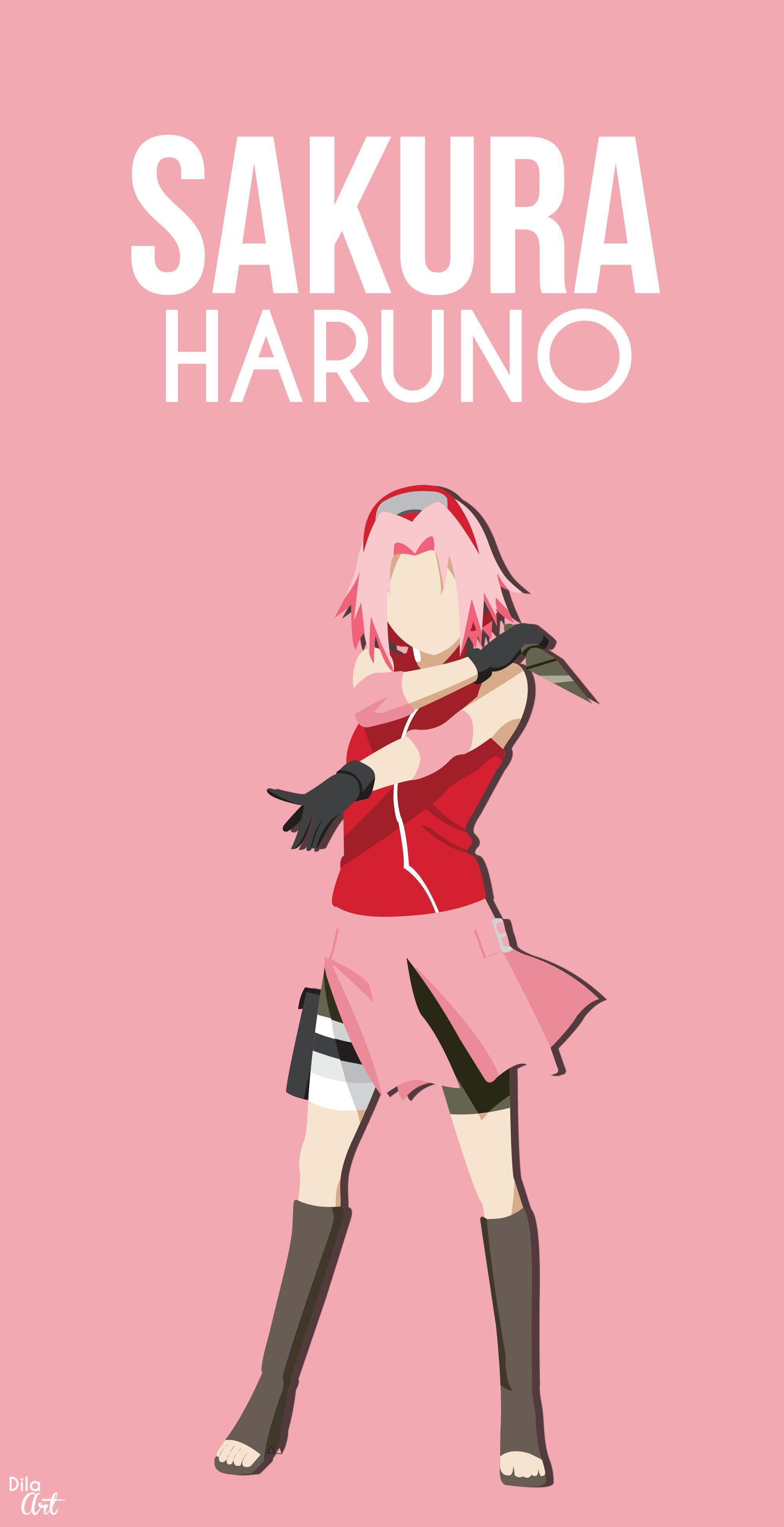 Sakura haruno / Nero wallpaper