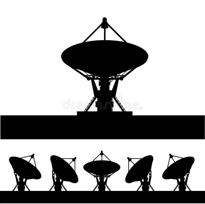 Silhouette Satellite Dish On White Background Sponsored Satellite Silhouette Dish Background White Ad Satellite Dish Satellites Silhouette