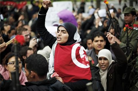 Tunisia - Women's legal rights have not changed since the revolution in 2010-11 but it took street protests before the new constitution was rewritten to enshrine full equality. The ruling Islamist Ennahda party has 42 women among its 89 MPs and only 3% of teenage girls are married. Some are worried about a rise in hardline conservatism.http://www.guardian.co.uk/world/2013/mar/31/egypt-cairo-women-rights-revolution
