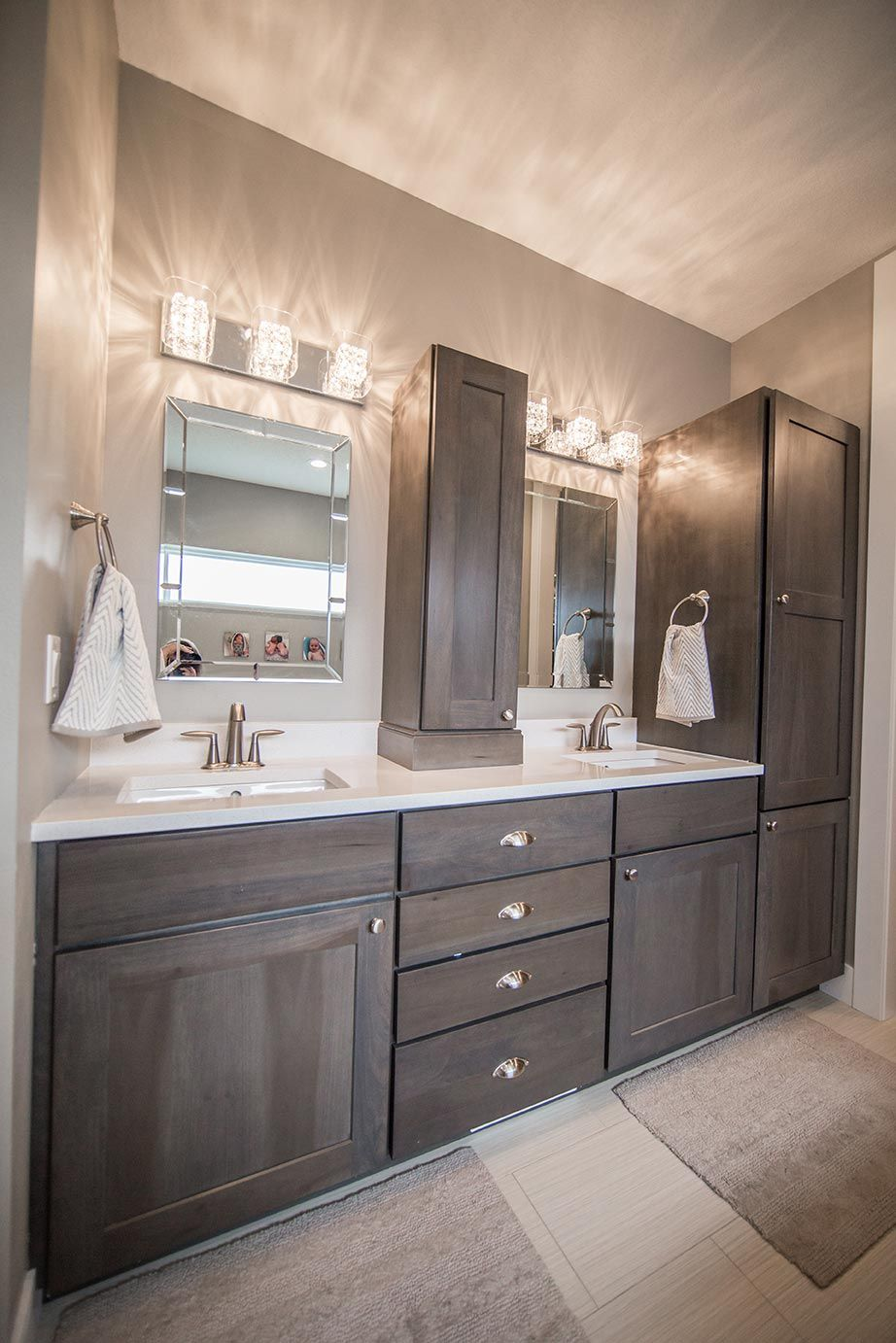 His and Hers Master Bathroom Sink and Vanity Bathrooms