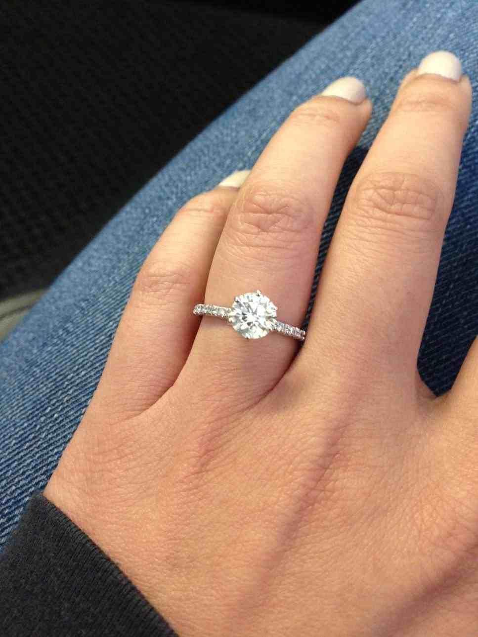 Beautiful Wedding Rings On Finger Best Engagement Rings