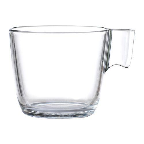 stelna mug verre transparent verre tremp le choc et solide. Black Bedroom Furniture Sets. Home Design Ideas