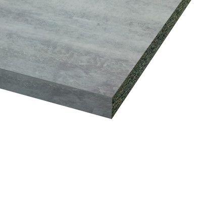Piano cucina laminato Bute cemento 3.8 x 60 x 246 cm | Cucina and Pianos