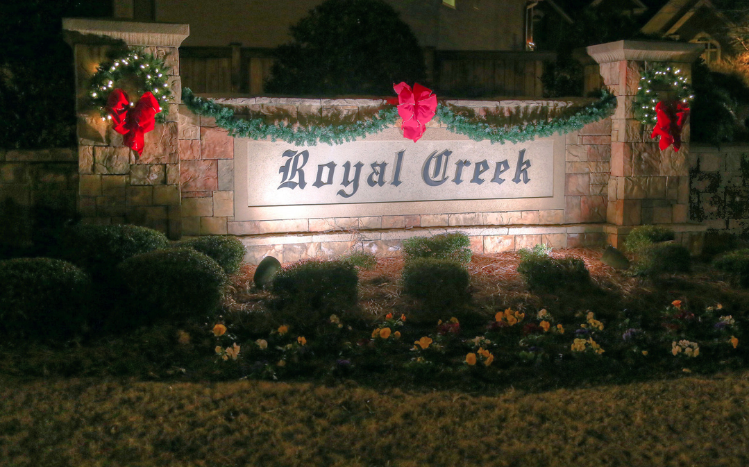 Image Result For Neighborhood Entrance Christmas