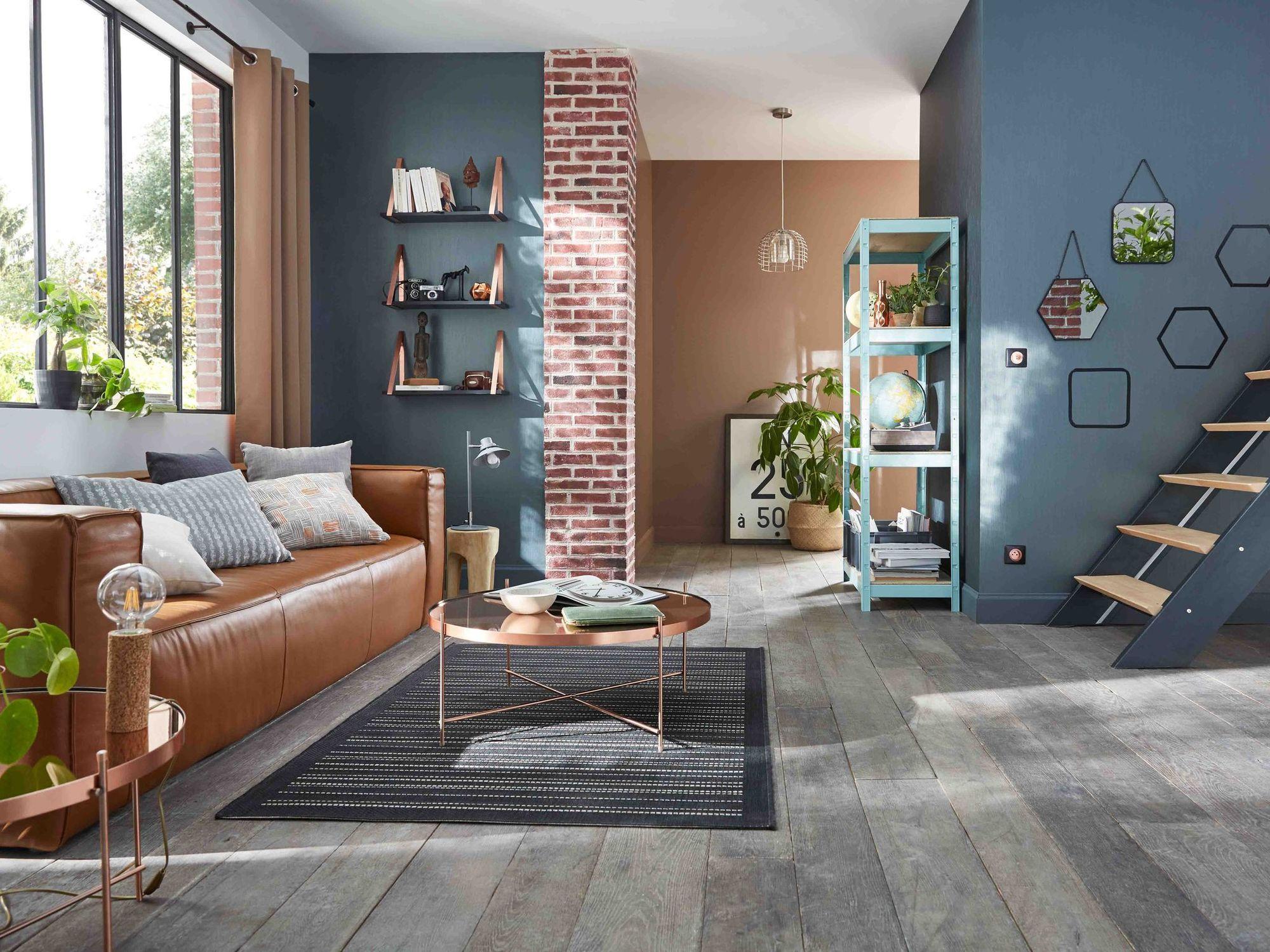 Peinture salon : 16 couleurs tendance pour repeindre le salon