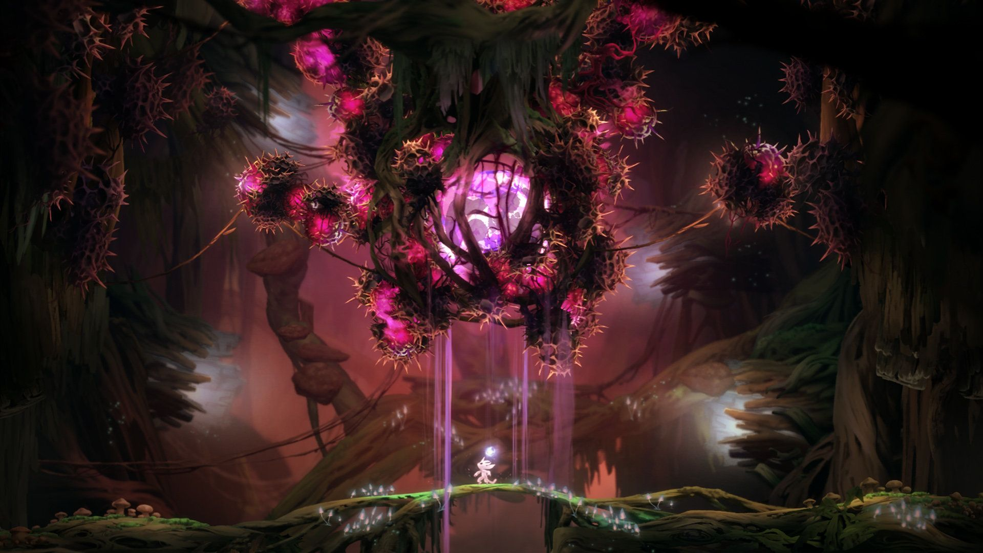 Ori And The Blind Forest Airborn Studios Environment Concept Art Concept Art Environment Design