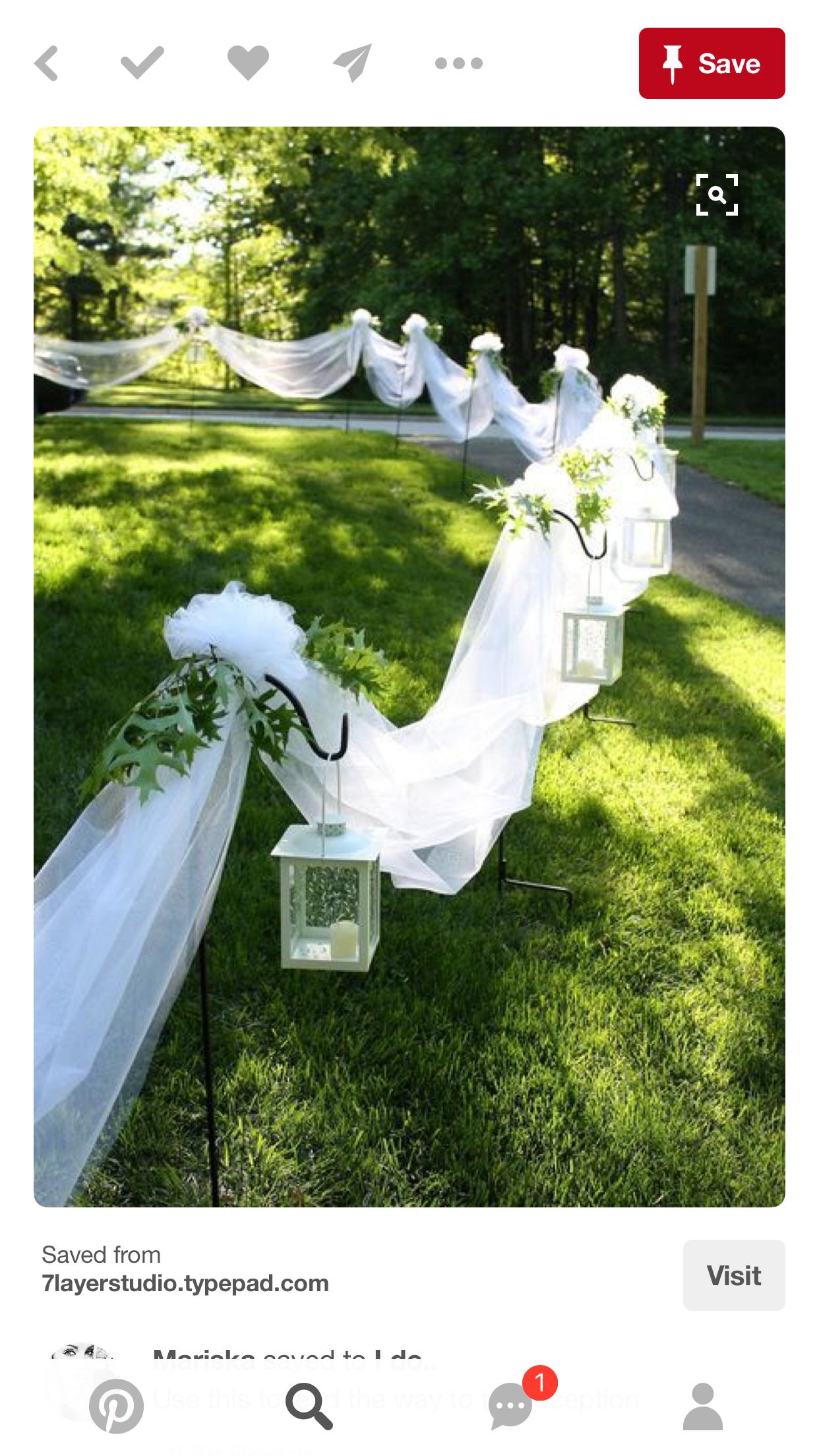 Wedding decorations. AltarWedding IdeasWedding DecorationsGarden ...