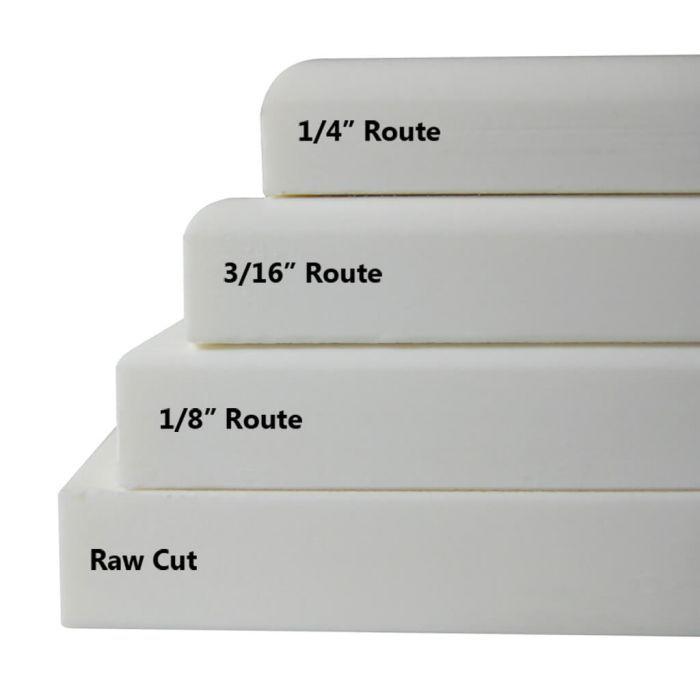 Styrene Plastic Sheets DIAMOND Single Tread plate ABS Embossed Plasticard A4
