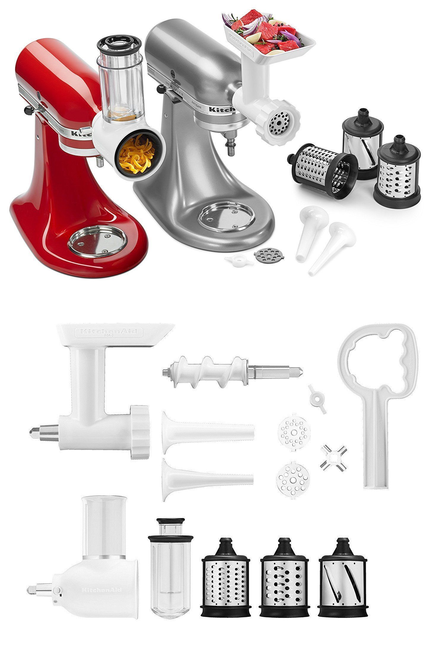 kitchenaid mixer attachment pack ebay