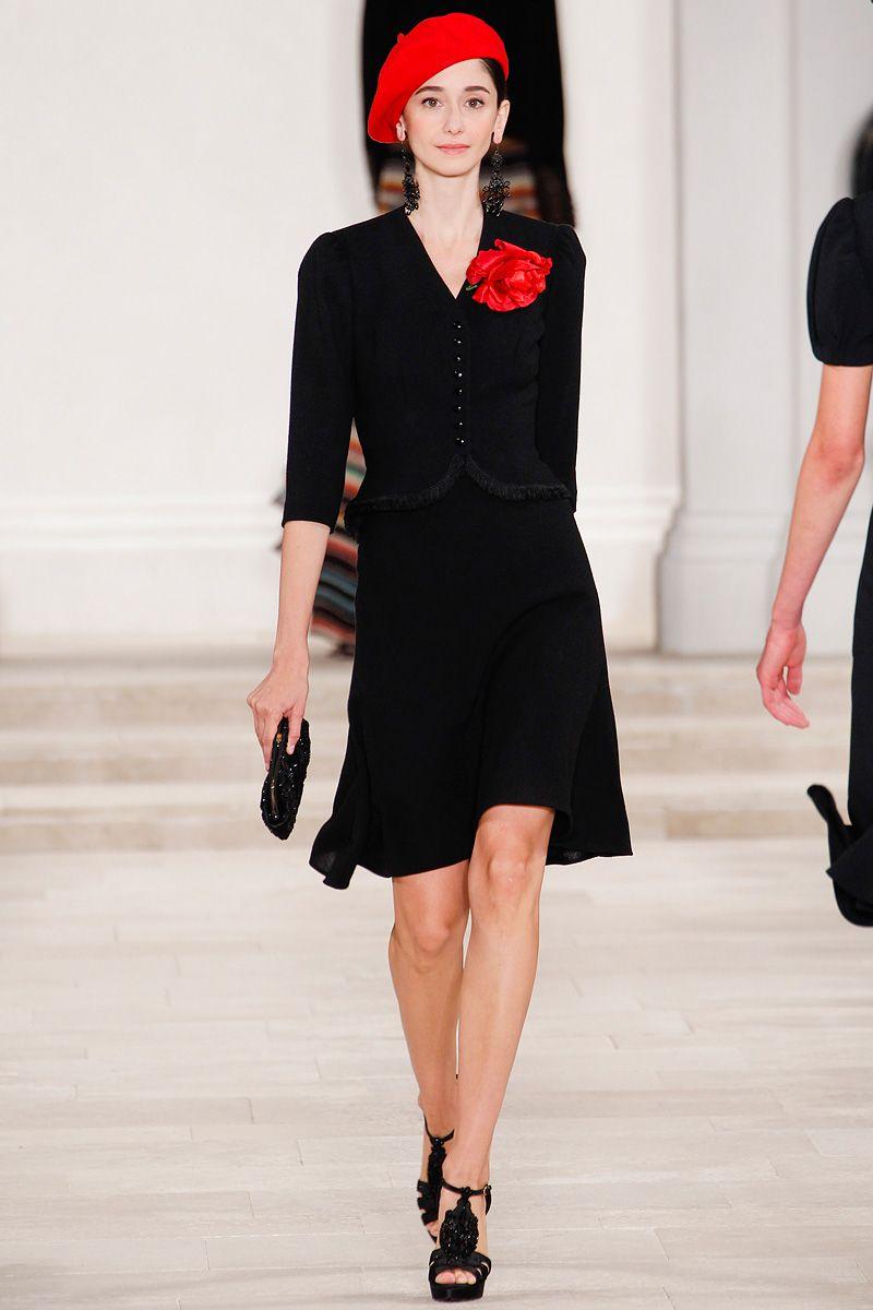 Ralph lauren spring rtw review fashion week runway