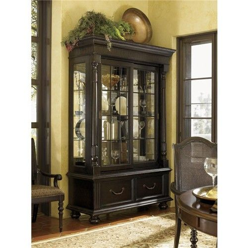 Kingstown Point Reyes Display Cabinet With Gl Doors By