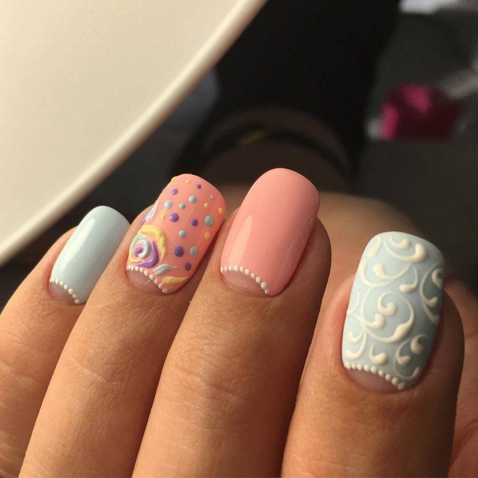Маникюр Видео уроки art simple nail vk дизайн ногтей
