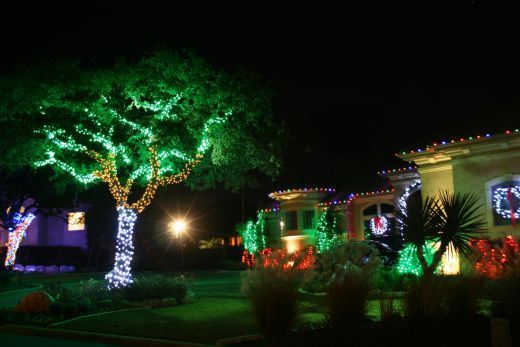 Outdoor Christmas Light Decorations Stunning Green Red Yellow And Blue Http