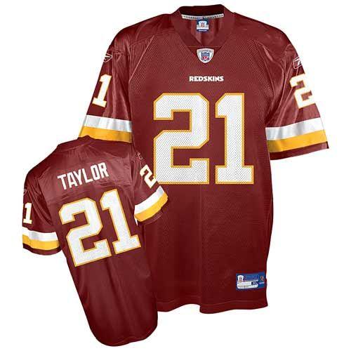 Sean Taylor Men s Replica Burgundy Red Jersey  Reebok NFL Washington  Redskins Home  21 Throwback 5ad30dedd