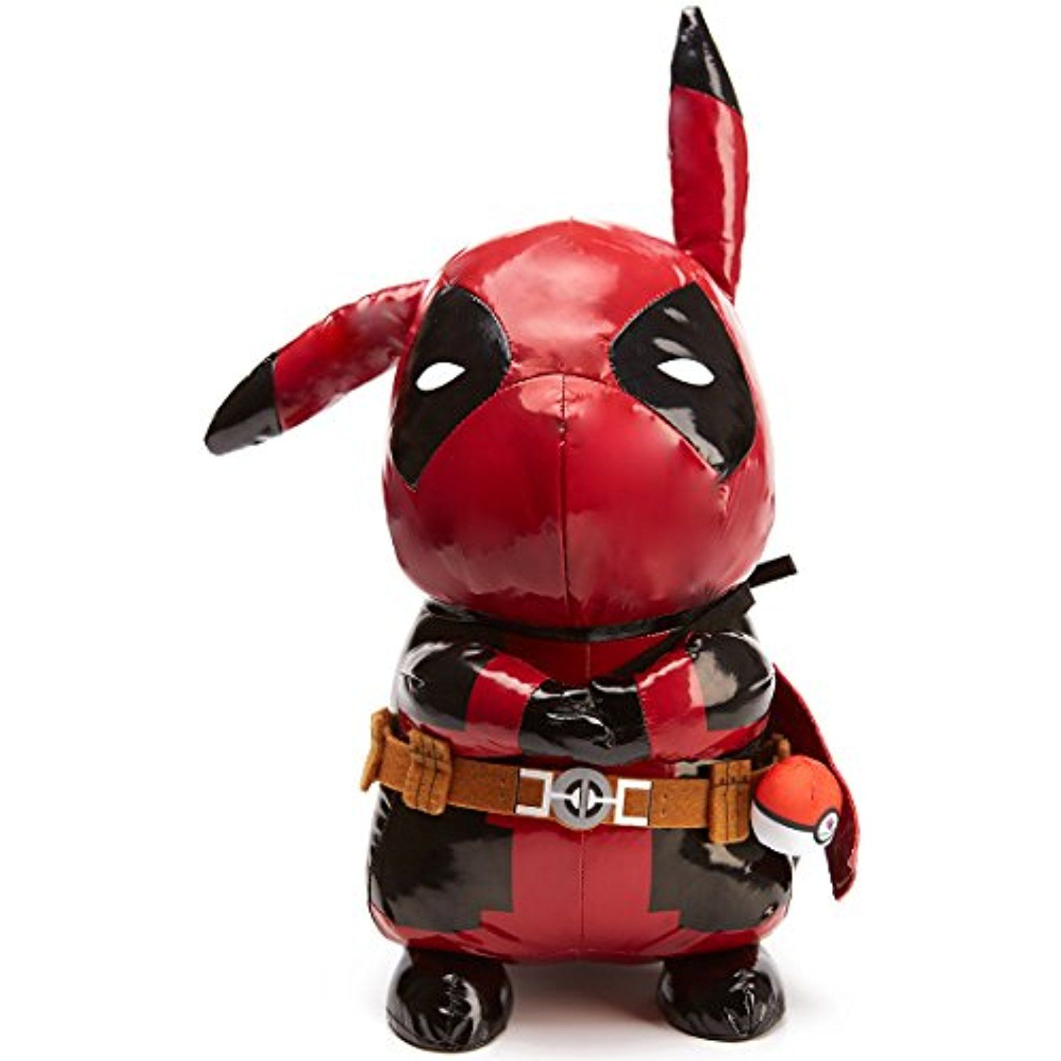 a204a0113 Pokemon Plush - Pikachu Plush and Deadpool Action Figure Plushes 2 in 1 -  'Pikapool Plush Toy'- 18