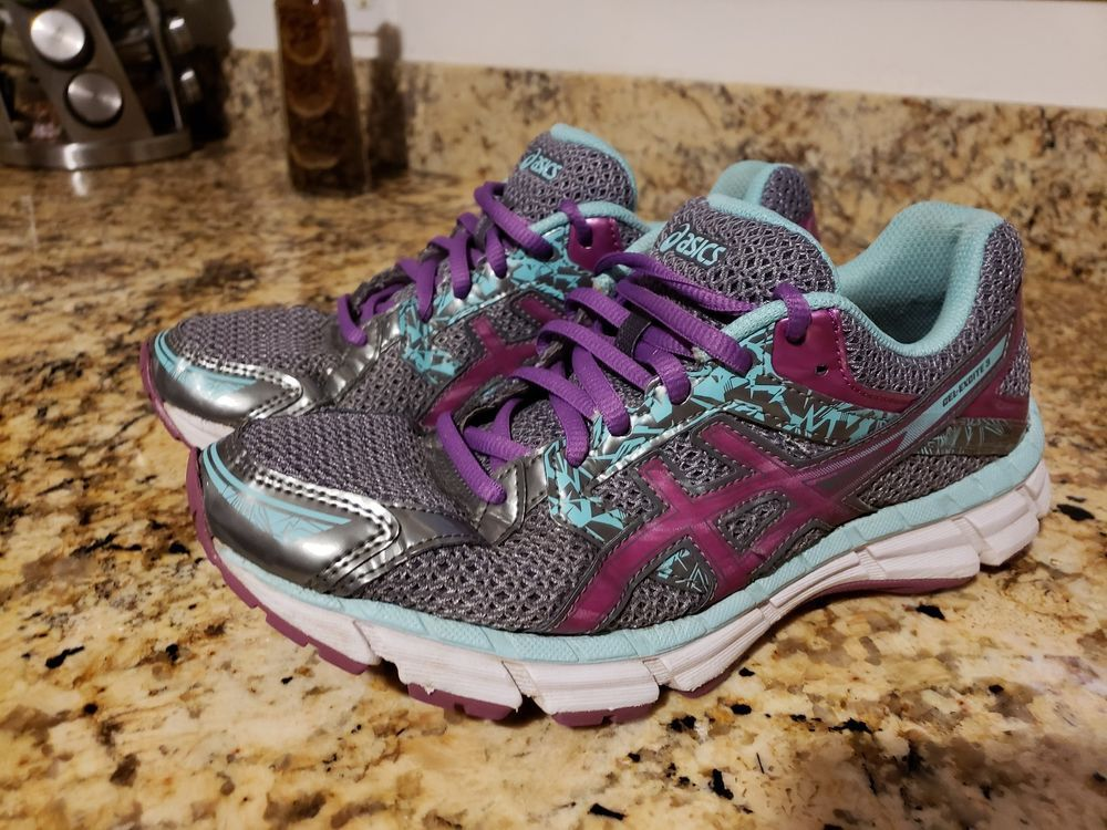 Asics Gel Excite 3 Womens Size 8 Running Athletic Tennis Shoes Sneakers T5b9n Fs Fashion Clothing Shoes Accessories W Sneakers Shoes Tennis Shoes Sneakers