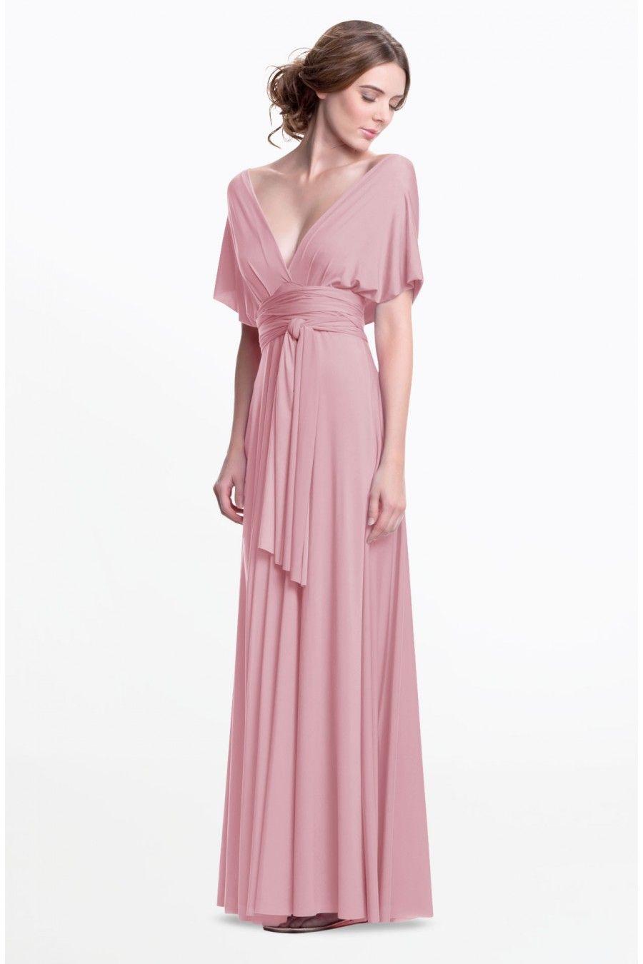 Sakura Maxi Convertible Dress - Made to Order | Wedding inspiration ...