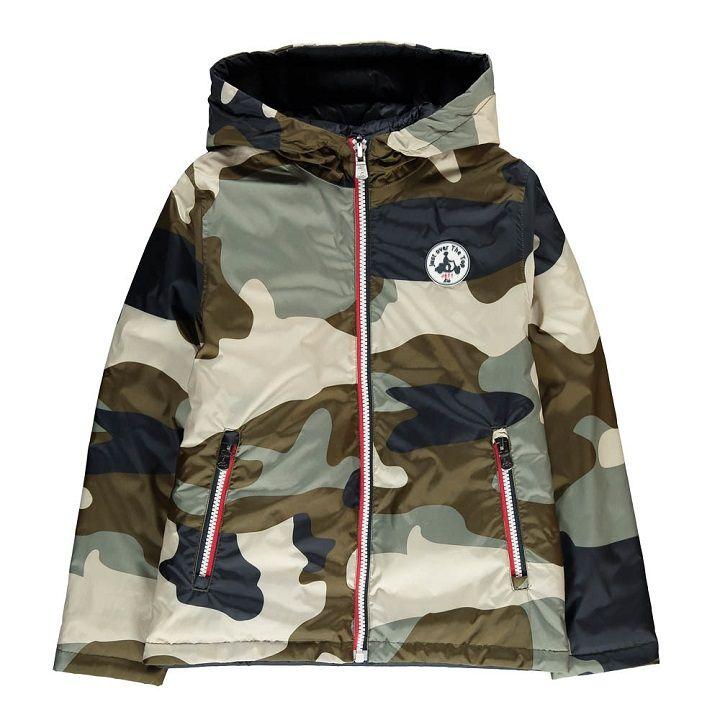taille 40 e63a8 3cf47 Blouson Réversible Camouflage Tokyo Vert kaki Jott Mode ...