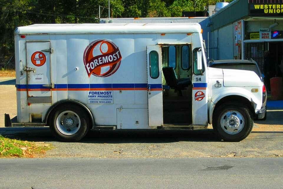 Foremost Milk Truck Antique Trucks Work Truck Dairy Milk