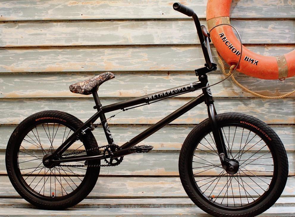 Wethepeople Crysis 2020 Matte Black Bmx Bmx Bikes Bmx Shop