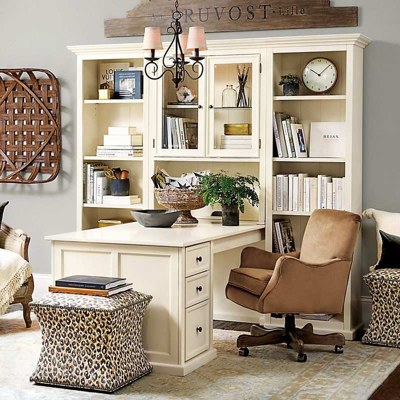 Browse home office furniture and find stylish decor today shop at ballard designs also tuscan desk return with file consoles hutches tuscandecor rh pinterest
