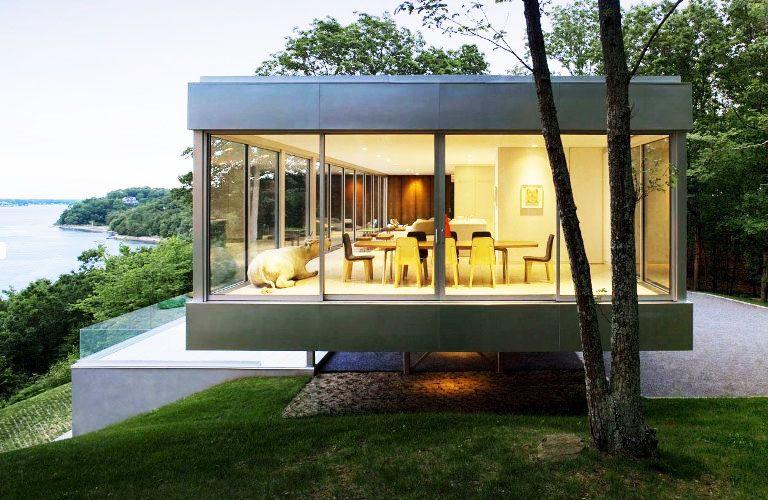 Desain Rumah Minimalis Full Kaca - Interistik | Desain Arsitektur, Rumah  Kontainer, Arsitektur Modern