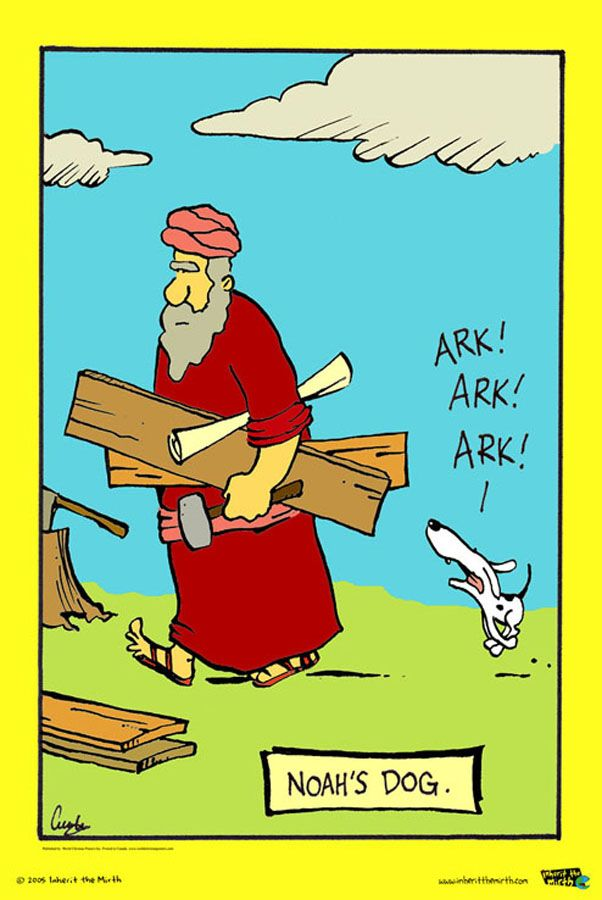NOAH'S DOG | God's got a Sence of Humour | Bible humor ...