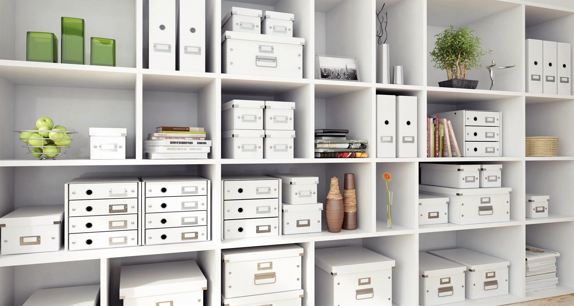 Leitz Click & Store A4 Storage Box (White) - ref 60440001: Amazon.co ...