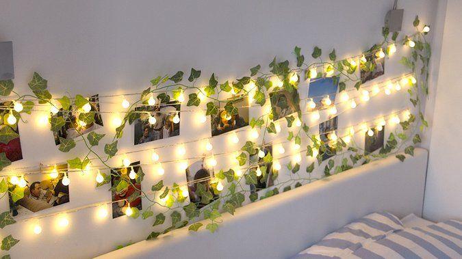 Tuto Fabriquer Une Tete De Lit Lumineuse Avec Des Photos Tete