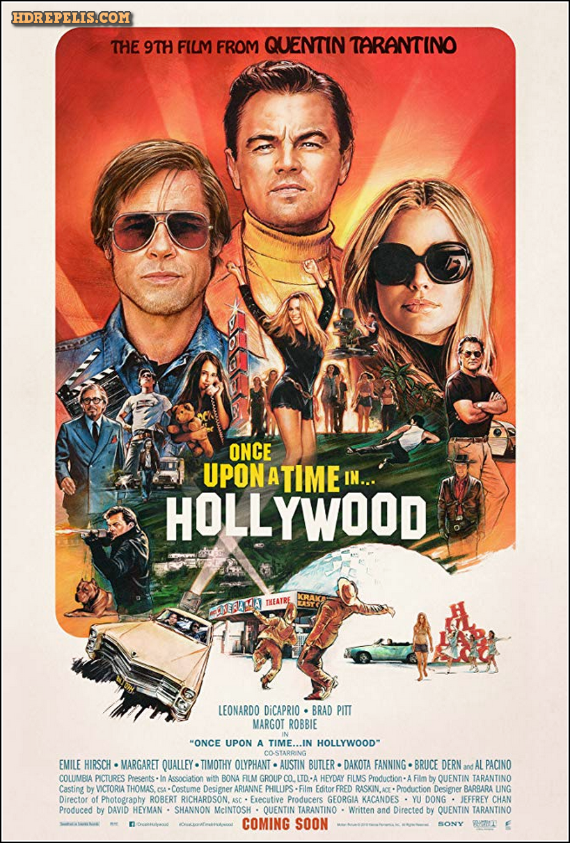 Erase Una Vez En Hollywood Once Upon A Time In Hollywood Pelicula Completa Hd Ver Online Hollywood Poster In Hollywood Hollywood