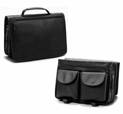 f2244860688 NIJ IIIA Bulletproof Leather Expandable Briefcase