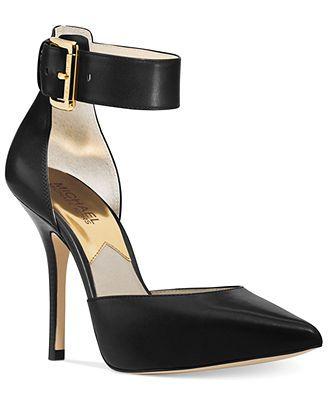Pump shoes, Ankle strap pumps