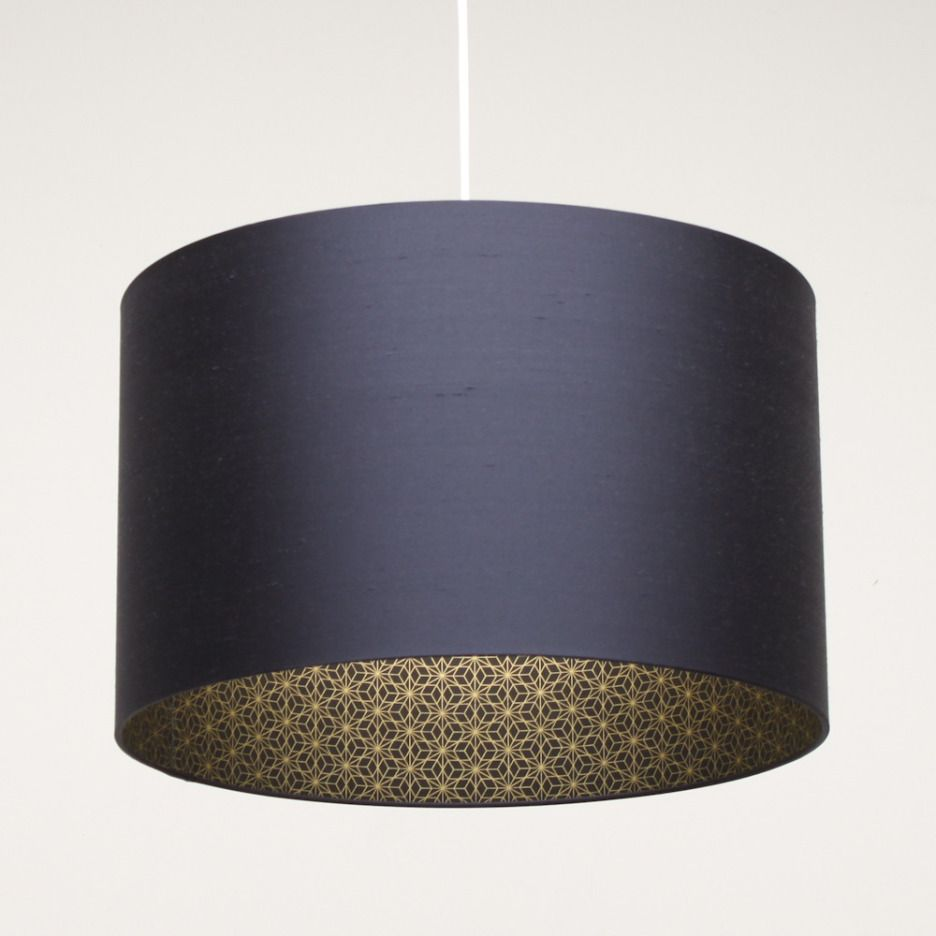 Accessories insiring home accessory design of pendant lamp with accessories insiring home accessory design of pendant lamp with dark blue drum lamp shade for bedroom decoration aloadofball Image collections
