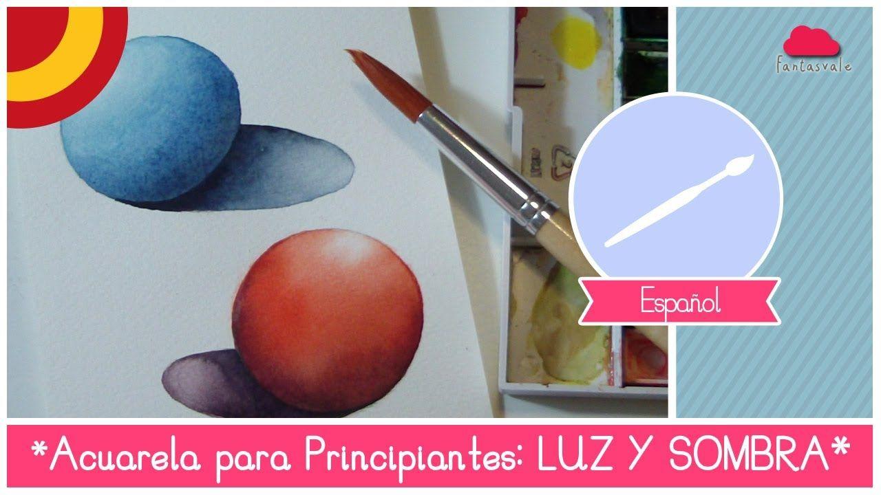 Acuarela Para Principiantes Como Pintar Luz Y Sombra Ejercicio De La Esfera Acuarela Para Principiantes Tutoriales De Acuarela Técnicas De Acuarela