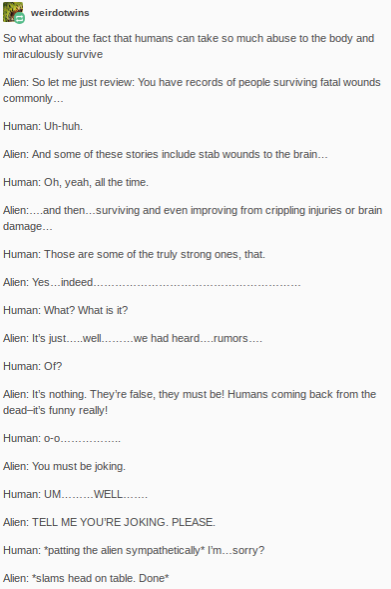 Humans Are Weird / Space Australia Serious Injuries