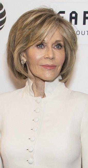 Jane Fonda-Contemporary Bobs for Women Over 40 | hair ...