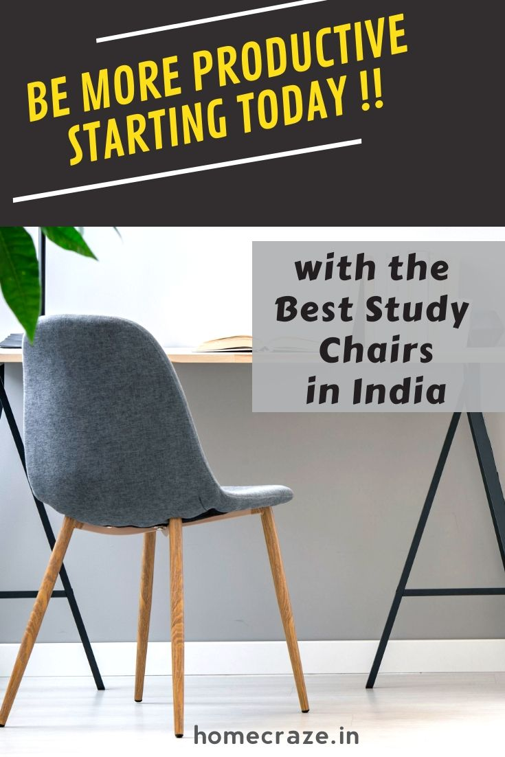 14 best study chairs in india 2020 for students home