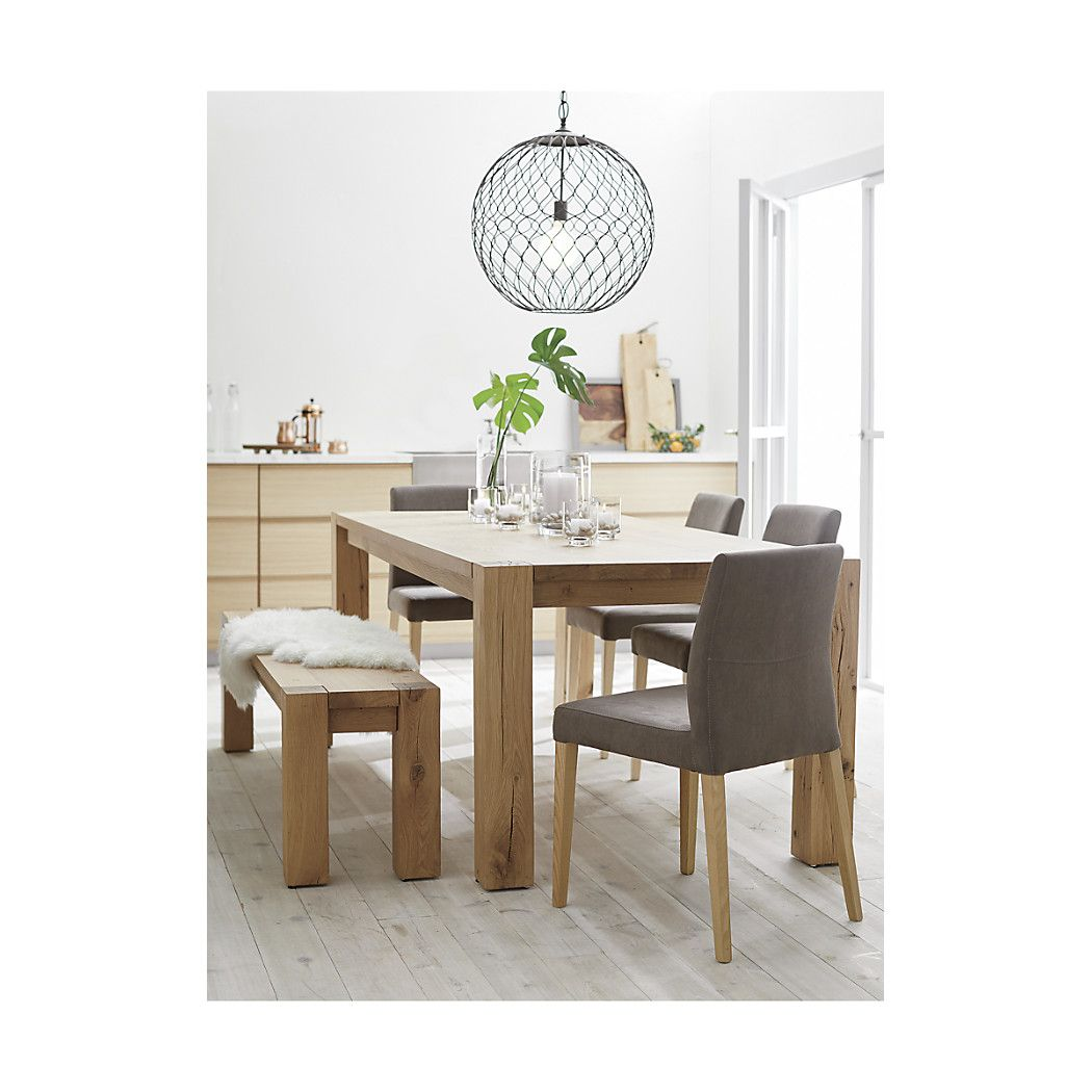 Good ... In Its Naturally Occurring Splits, Cracks And Knots, And In Its  Intricate, Narrow Grain Produced By A Colder Climate. Each Dining Table  Will Display Its ...