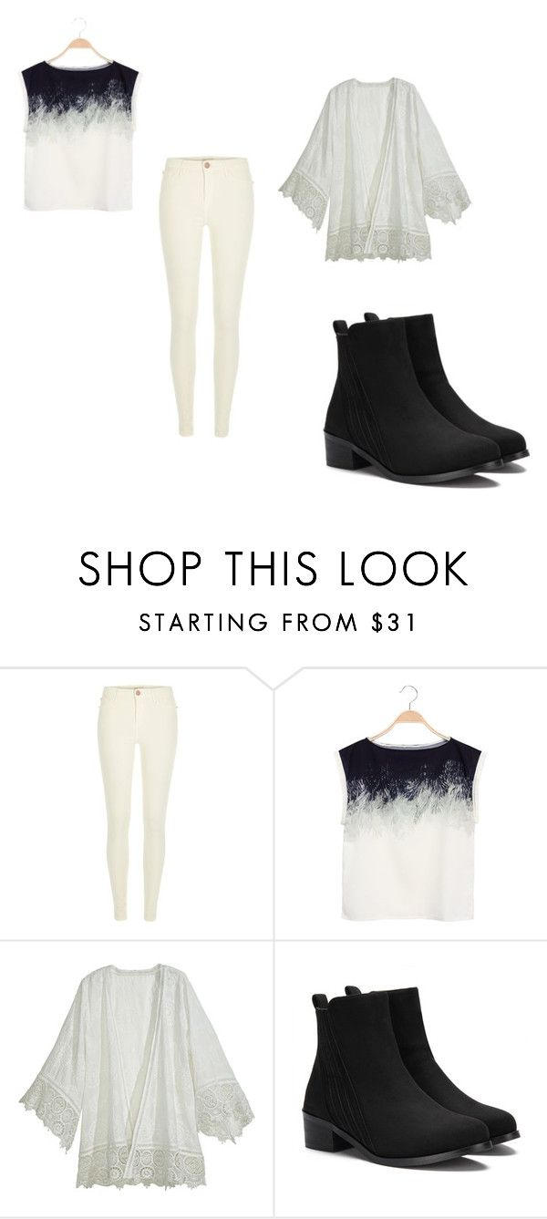 """""""Niver M"""" by bianca-b-santos on Polyvore featuring River Island e Calypso St. Barth"""