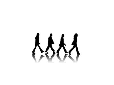 Abbey Road Black And White The Beatles 1024x768 Wallpaper HD